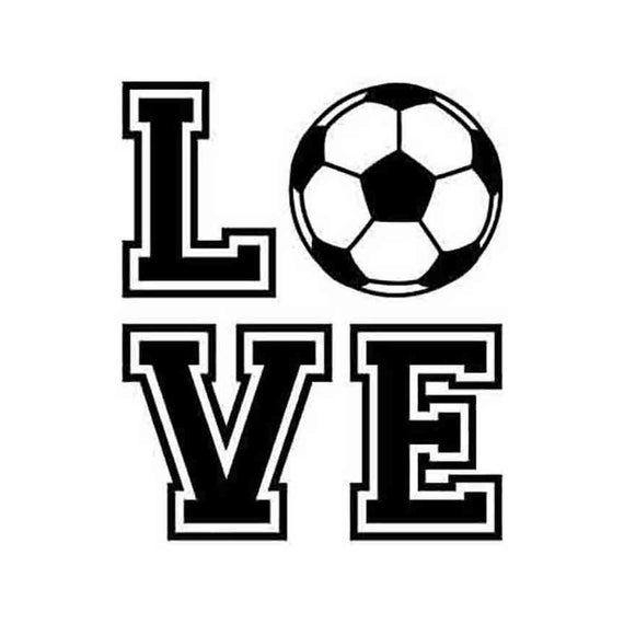 Love Soccer customizable INSTANT DOWNLOAD 1 vector .eps, .dxf, .svg, & .ai  Vinyl Cutter Ready, T.
