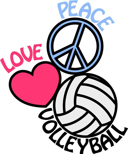 Free Love Volleyball Cliparts, Download Free Clip Art, Free Clip Art.