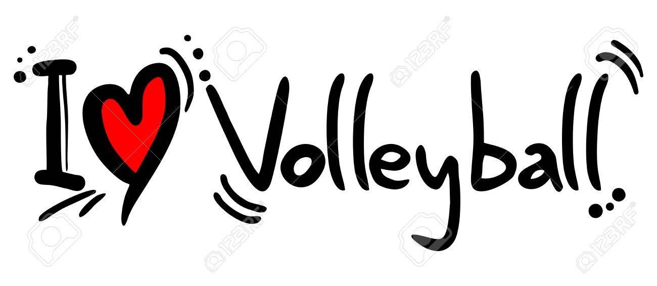 Volleyball love.