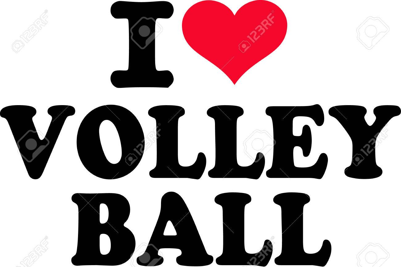 I love Volleyball.