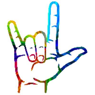 I Love You Sign Language.