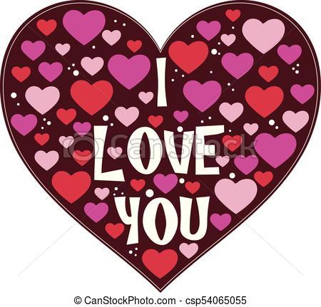 I Love You Valentine Heart.