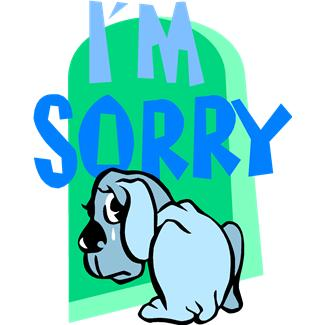 Im sorry clipart 9 » Clipart Station.