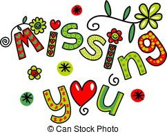 Miss You Clipart Images.