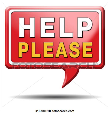 Please Help Clipart.