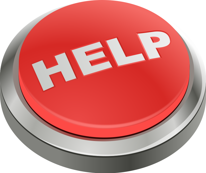 Ask For Help Clipart.