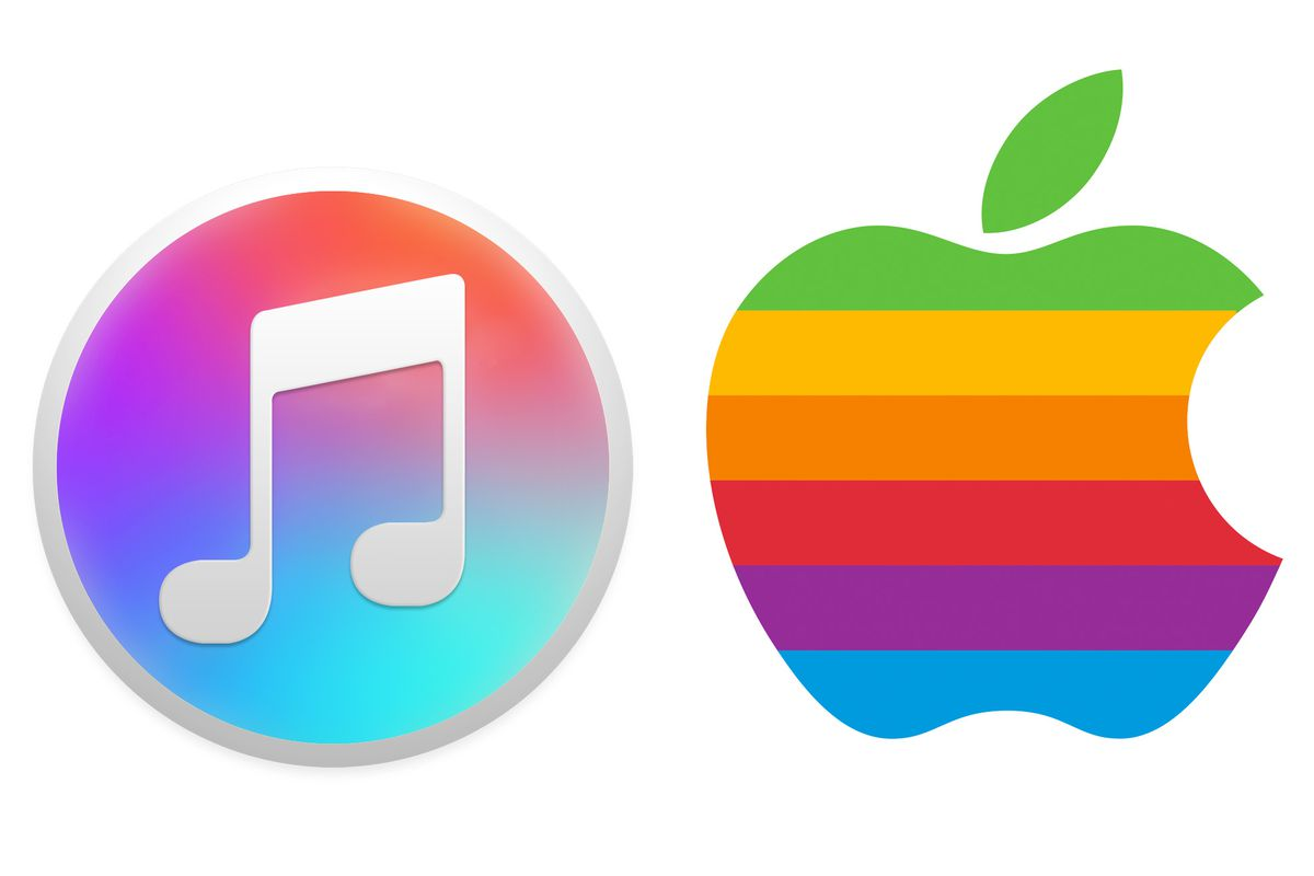 The new iTunes icon is a throwback to Apple\'s classic logo.