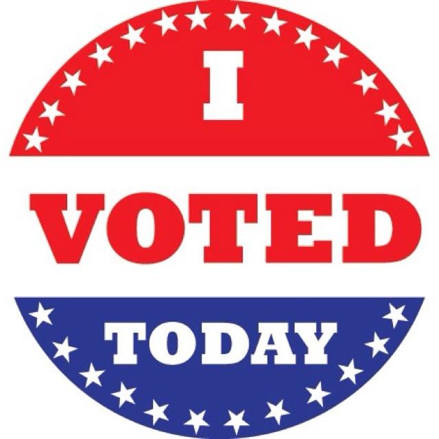 Vote Sticker Clipart.