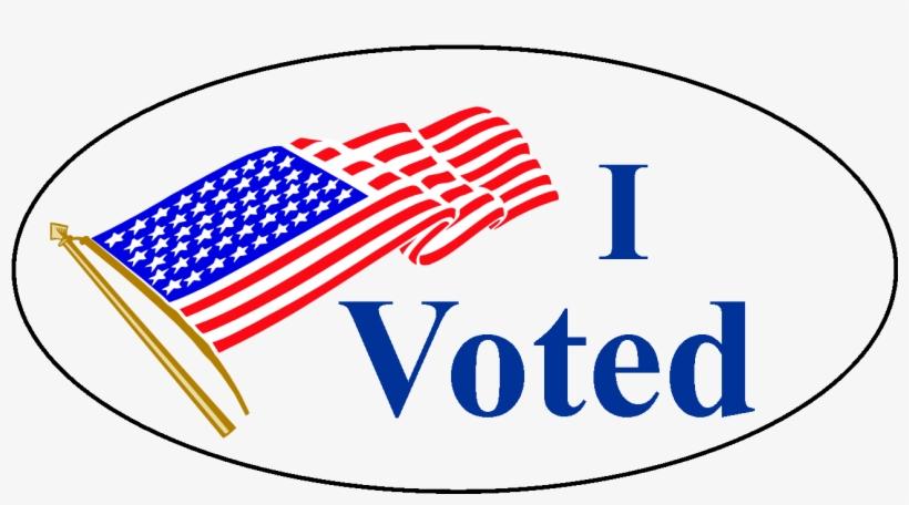 Transparent I Voted Sticker Transparent PNG.
