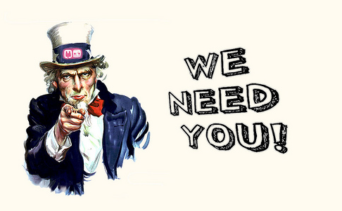 We Need You Clipart.