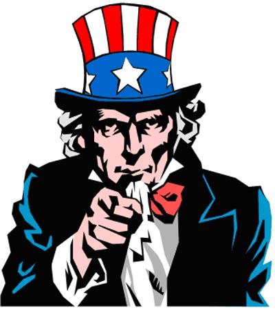 Uncle sam i want you clipart.