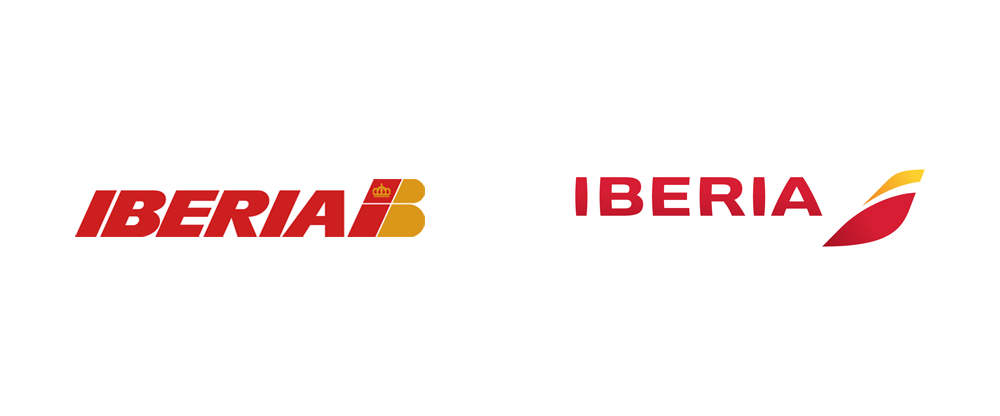 Brand New: New Logo, Identity, and Livery for Iberia by Interbrand.