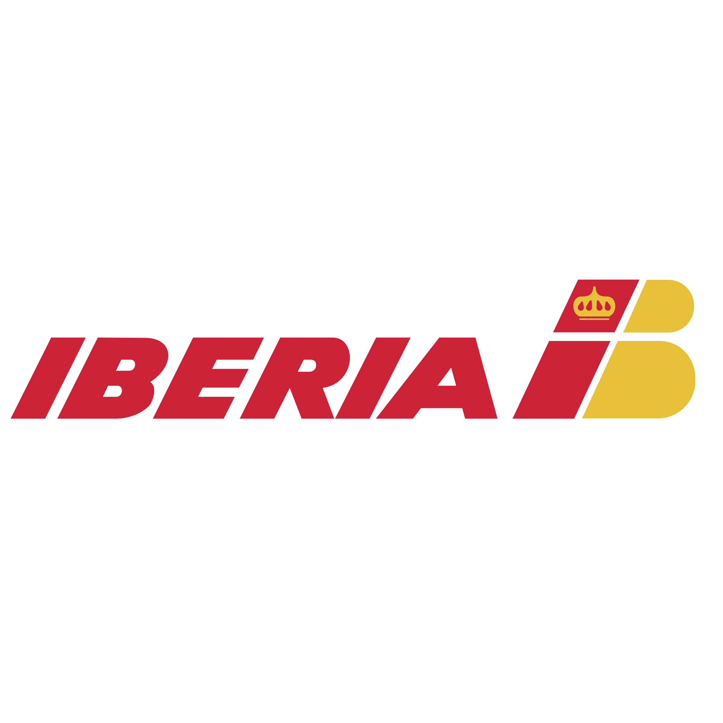 Iberia Airlines Logo PNG Transparent & SVG Vector.