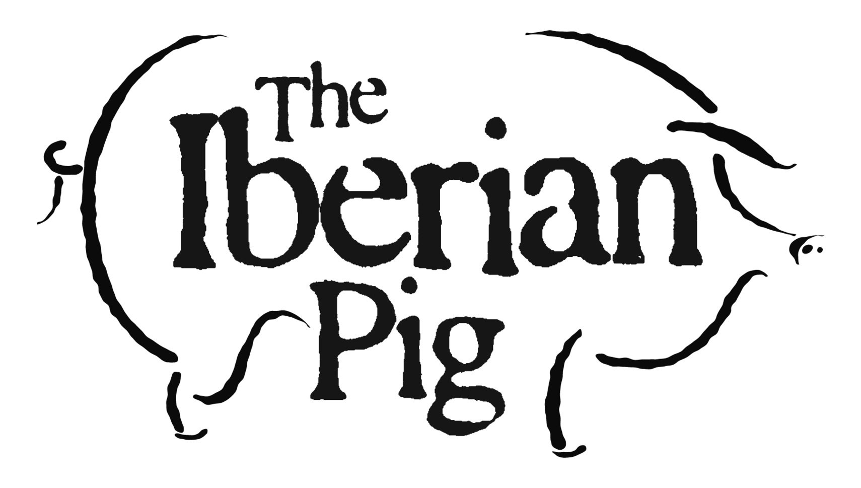 Iberian Pig Gluten Freedom Atlanta Clipart.