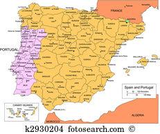 Iberian peninsula Clip Art and Illustration. 53 iberian peninsula.