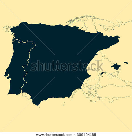 Iberian Peninsula Stock Vectors & Vector Clip Art.