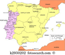 Iberian peninsula Clip Art and Illustration. 53 iberian peninsula.