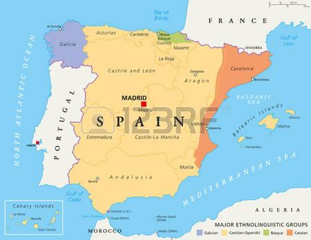 222 The Iberian Peninsula Stock Vector Illustration And Royalty.