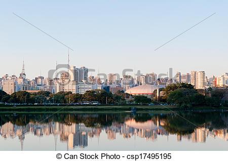 Stock Photographs of Ibirapuera Park.