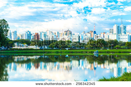 Ibirapuera Park Sao Paulo Brazil Stock Photo 167820671.