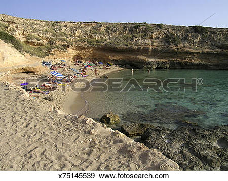 Stock Photograph of Balearics Islands, Spain. Ibiza Island.