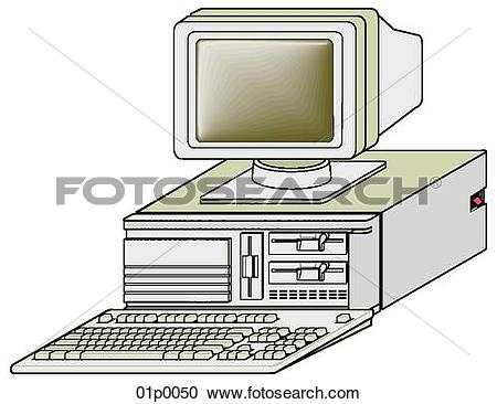 Clipart of ibm risc 6000 01p0050.