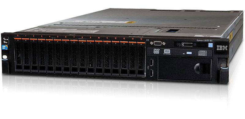 IBM System x3650 M4 Server.