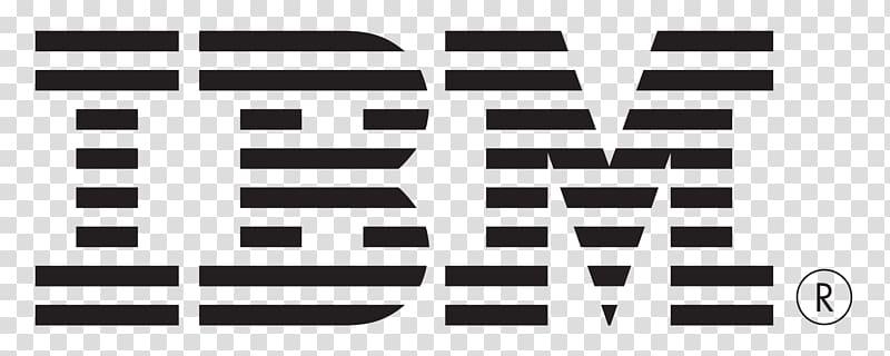 IBM logo, IBM Hewlett Packard Enterprise Logo Dell Server.