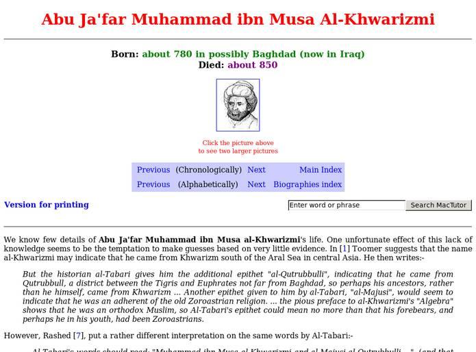 Abu Ja'far Muhammad Ibn Musa Al.