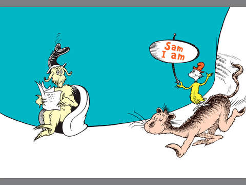 Green eggs and ham by dr seuss on ibooks clipart.