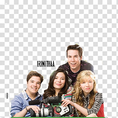 Icarly, group of peopl transparent background PNG clipart.