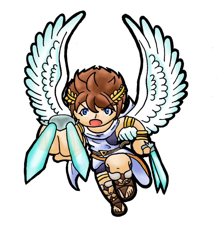 Icarus Clipart.