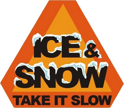 Ice & Snow? Take it slow! Winter Driving Safety.