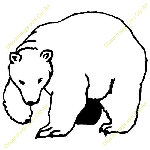 polar bear clipart free - Clipground