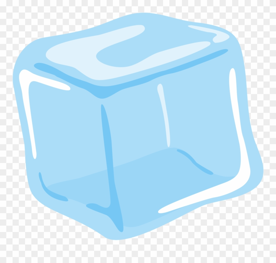 Single Ice Block Clipart (#3000716).