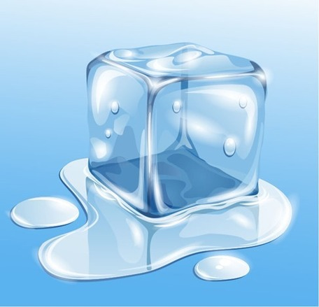 Transparent Ice, free vector.