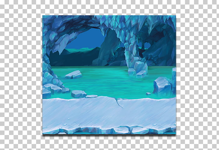 Ice cave Video game Polar ice cap, cave PNG clipart.