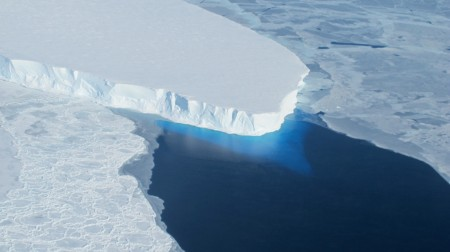 Scientists Find Melting of Antarctic Ice Sheet Accelerating.