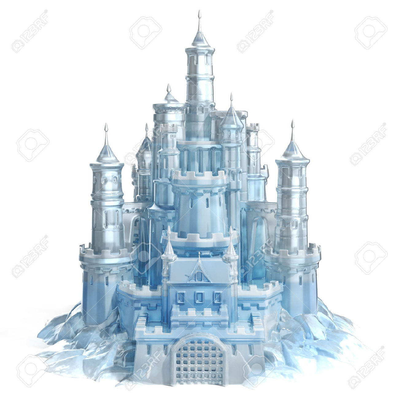 Princess Castle Wall Sticker Ice Castle Clipart Clipground