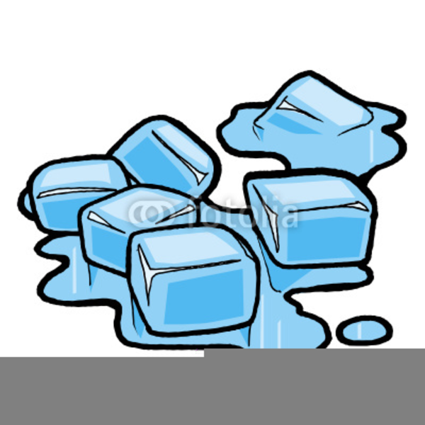 Clipart Ice Cube Melting.