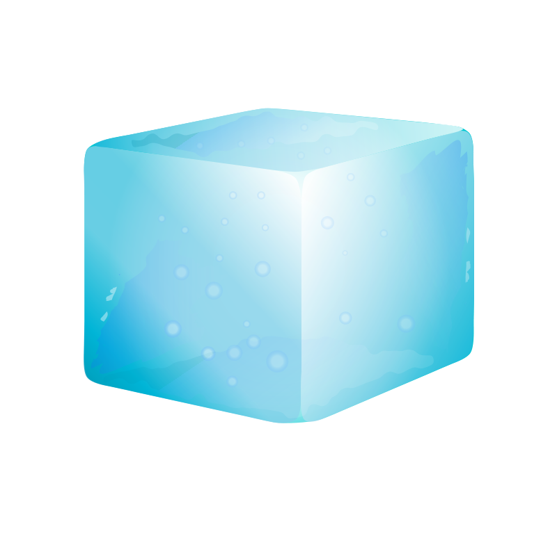 Ice Cube Png.