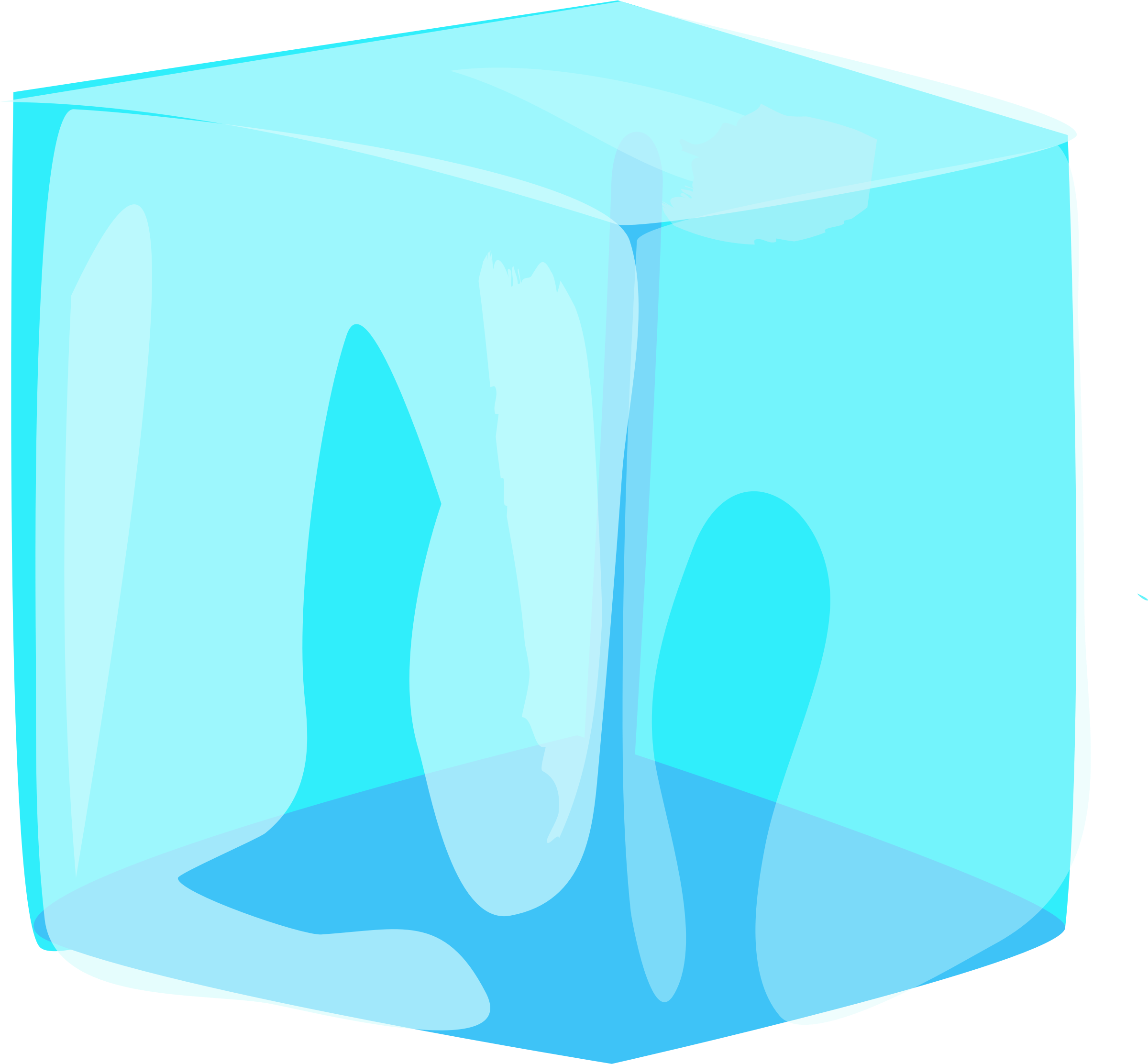 CUBE Ice PNG.