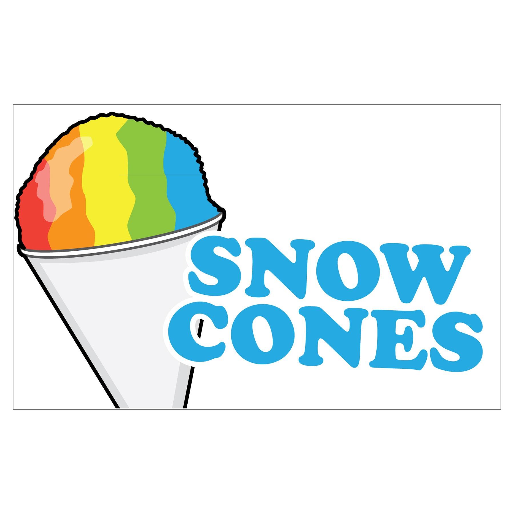 Snow Cone Clipart.