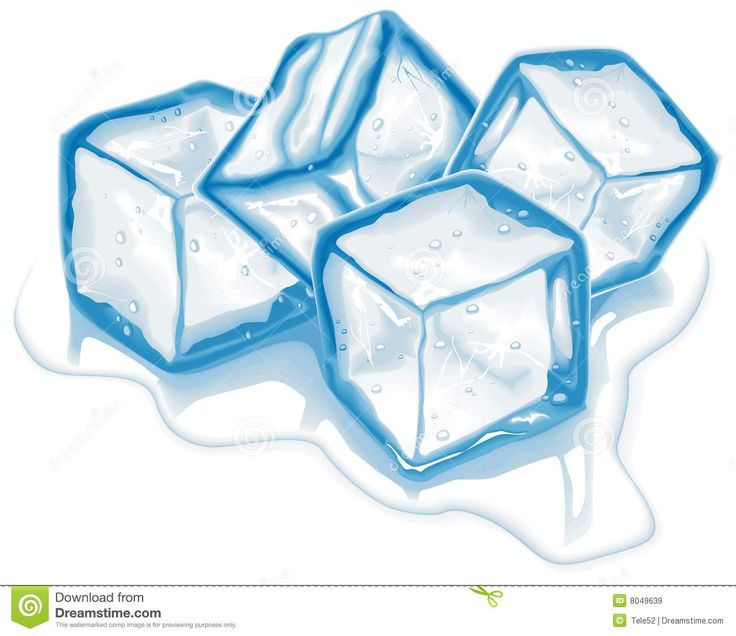 hand drawn ice cube clip art.
