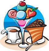 Cake And Ice Cream Clipart.