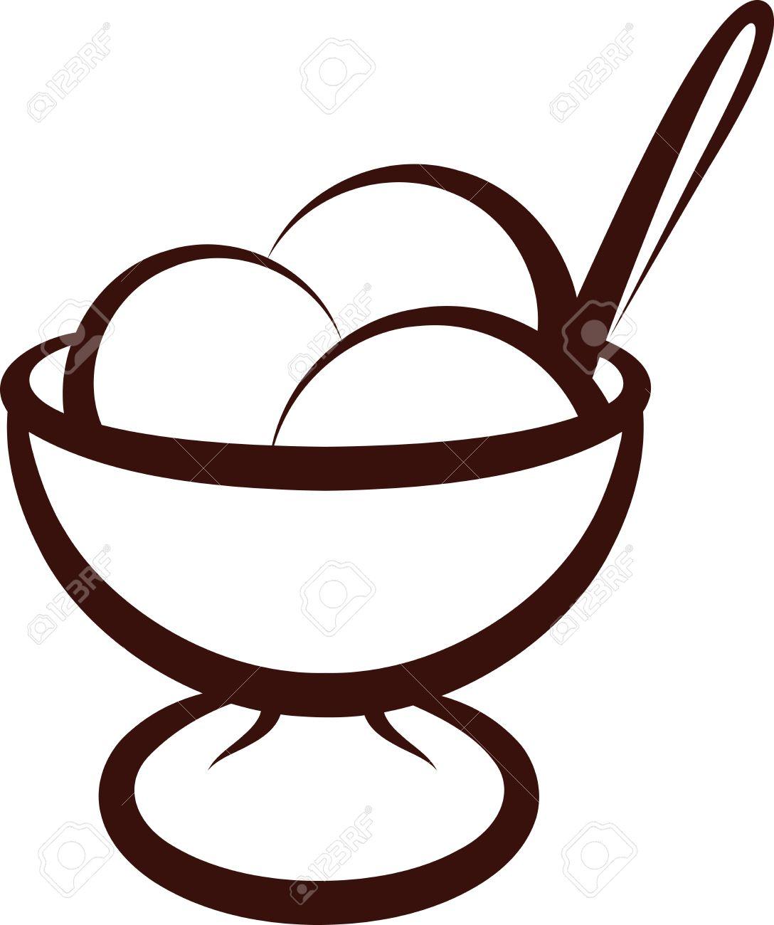 Best Ice Cream Bowl Clipart #29371.