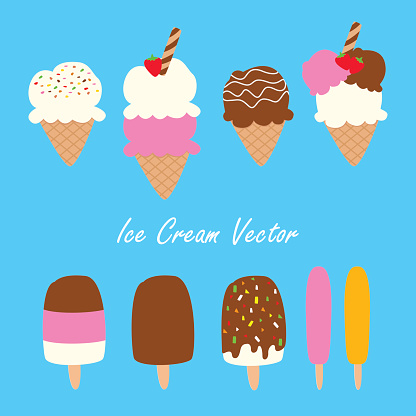 Ice Cream Cone With Sprinkles Clipart