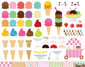 Ice cream clipart: