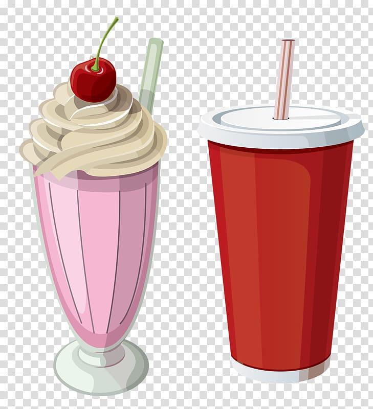 Chocolate ice cream Milkshake Smoothie Chocolate milk, Pink Cup.