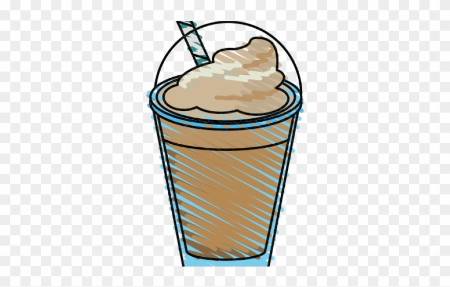 Milkshake Clipart Whipped Cream Png.